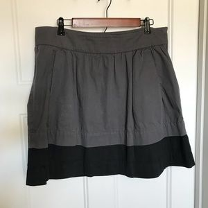 Gray and black old navy skirt size 14